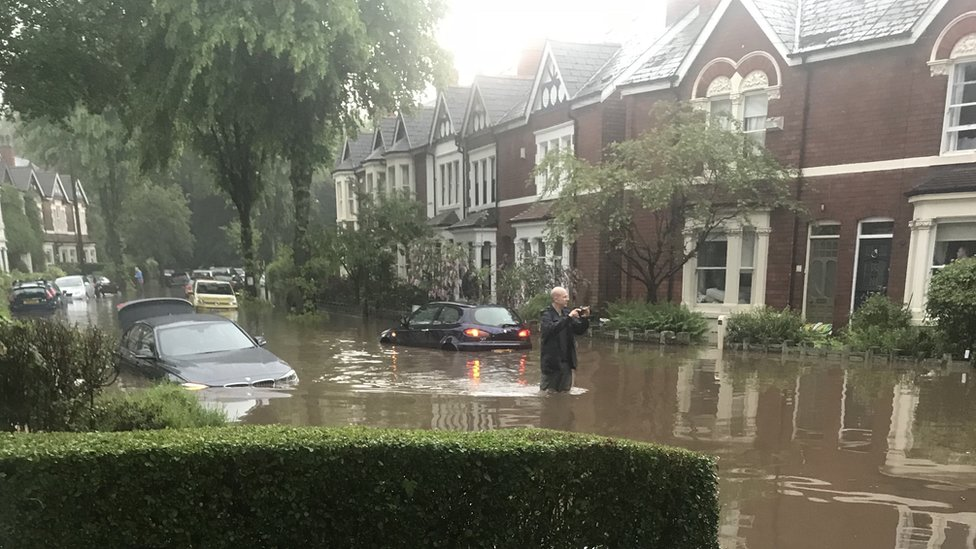 Storms cause flash flooding across Birmingham