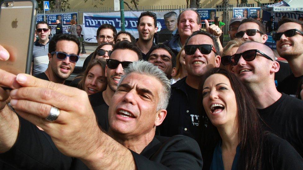 يائير لبيد، المرشح في الانتخابات الإسرائيلية