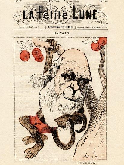 La portada de la revista satírica francesa La Petite Lune en 1871