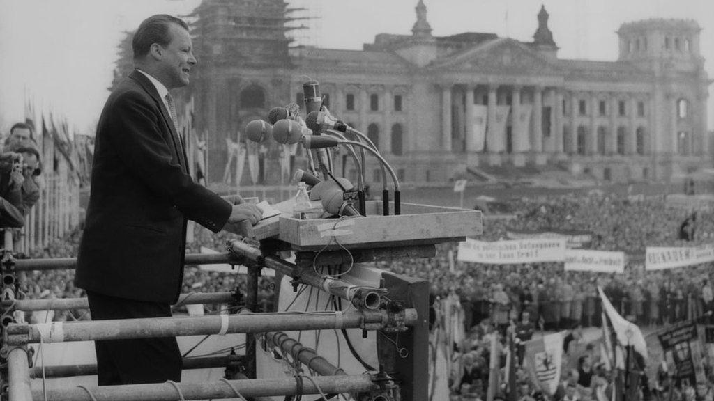 Vili Brant kao gradonačelnik Zapadnog Berlina