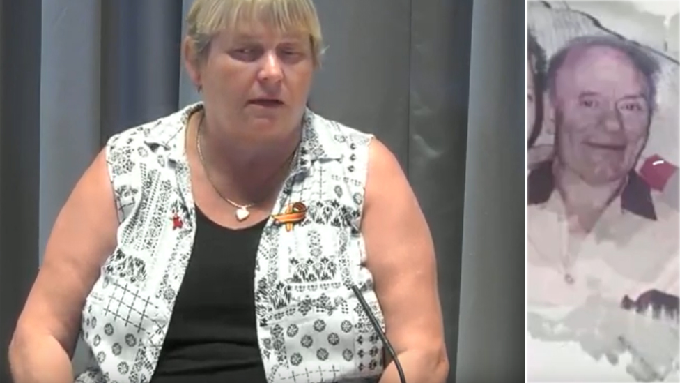 Sue Sparkes spoke about the experience involving her late husband Les