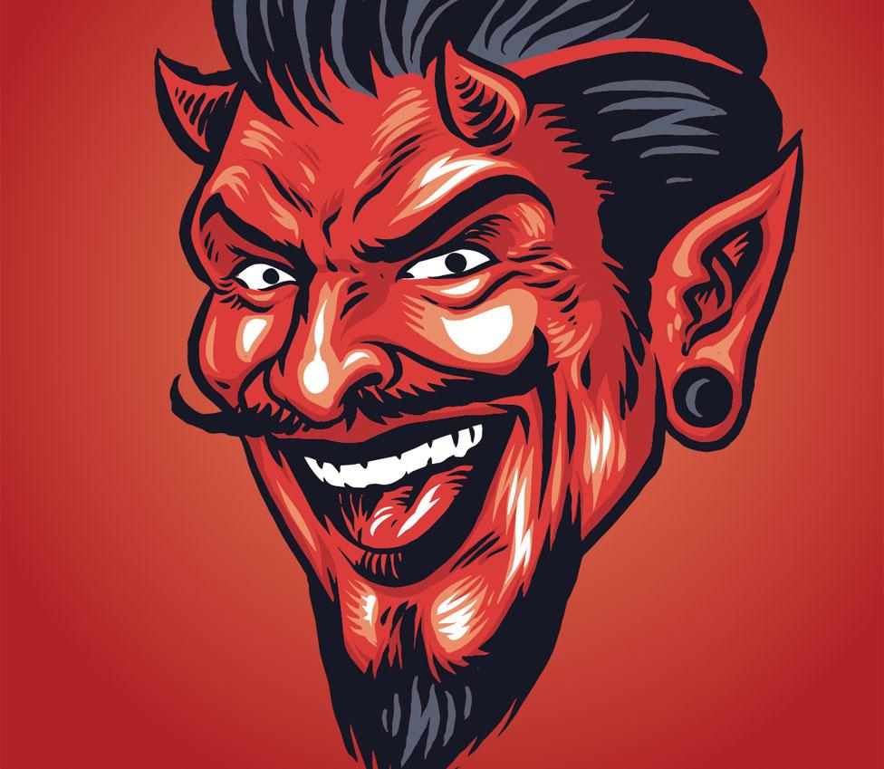 Satan's icon
