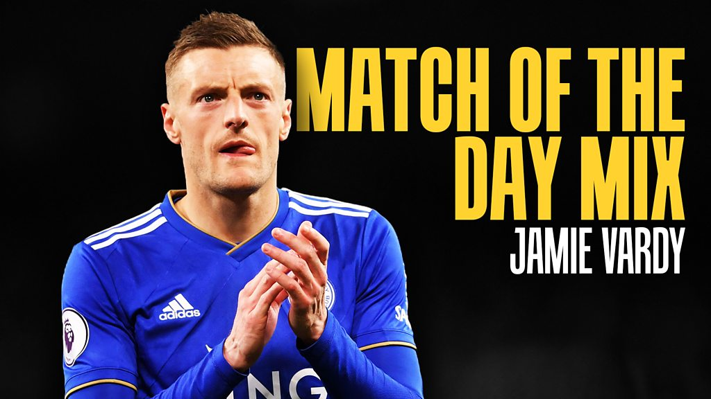 Match of the Day Mix: Jamie Vardy picks Westlife & Kasabian but no happy hardcore