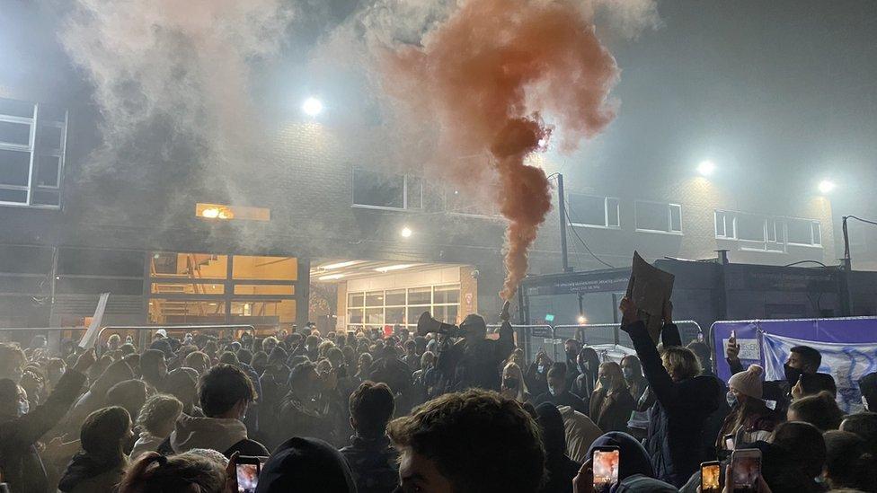 Picture of Protestors