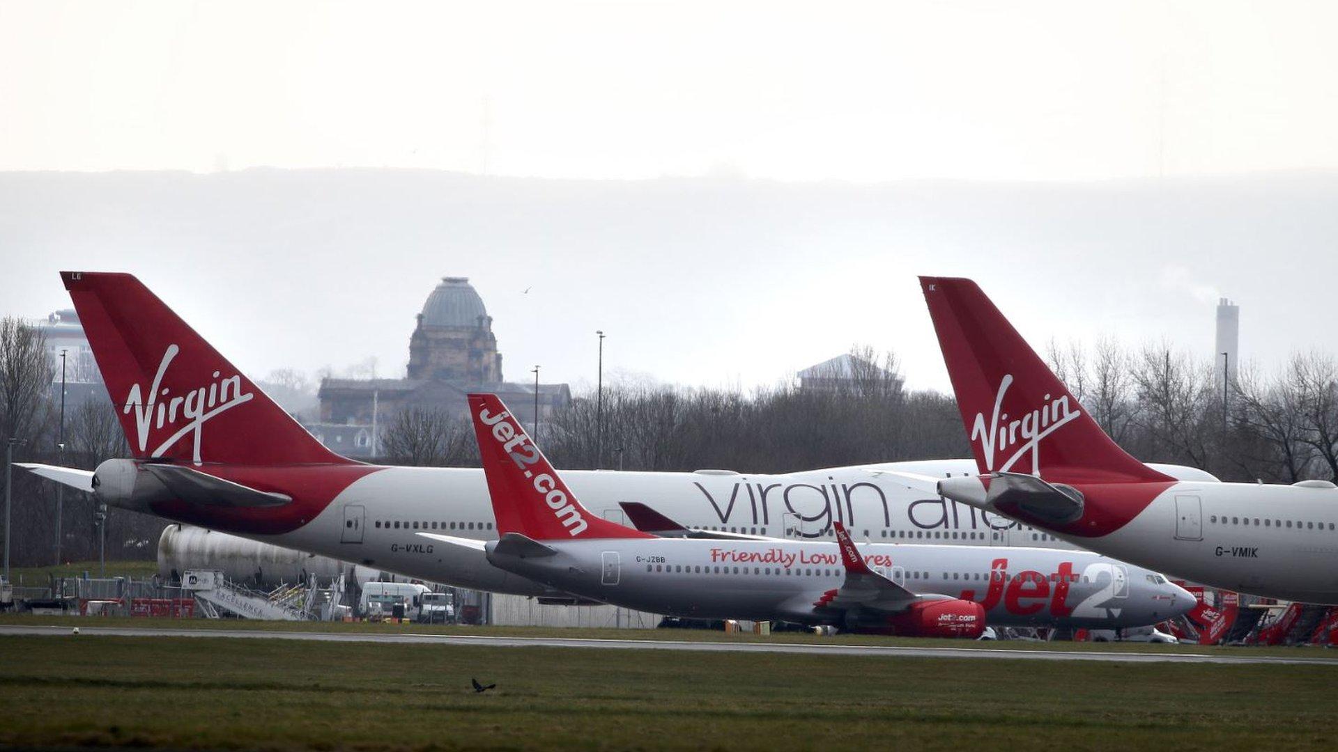 Virgin Atlantic flights at Glasgow Airport