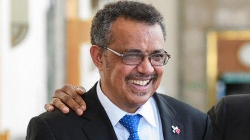 Tedros Adhanom Ghebreyesus: Ethiopian wins top WHO job