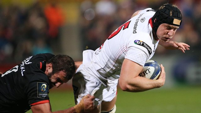 Franco van der Merwe expects a tough forward battle against Munster