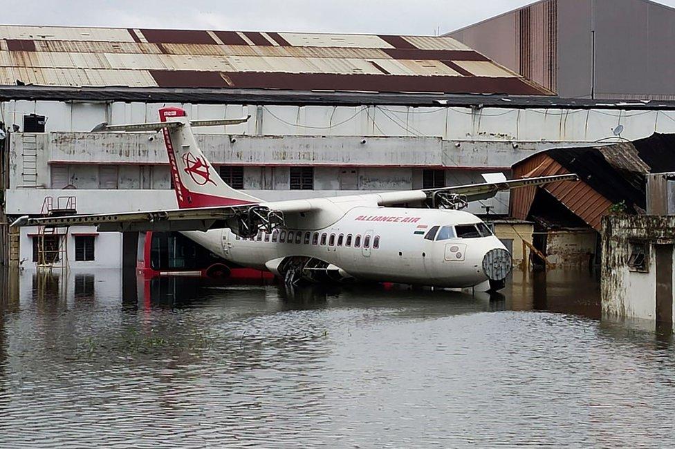 Aeropuerto de Calcuta.