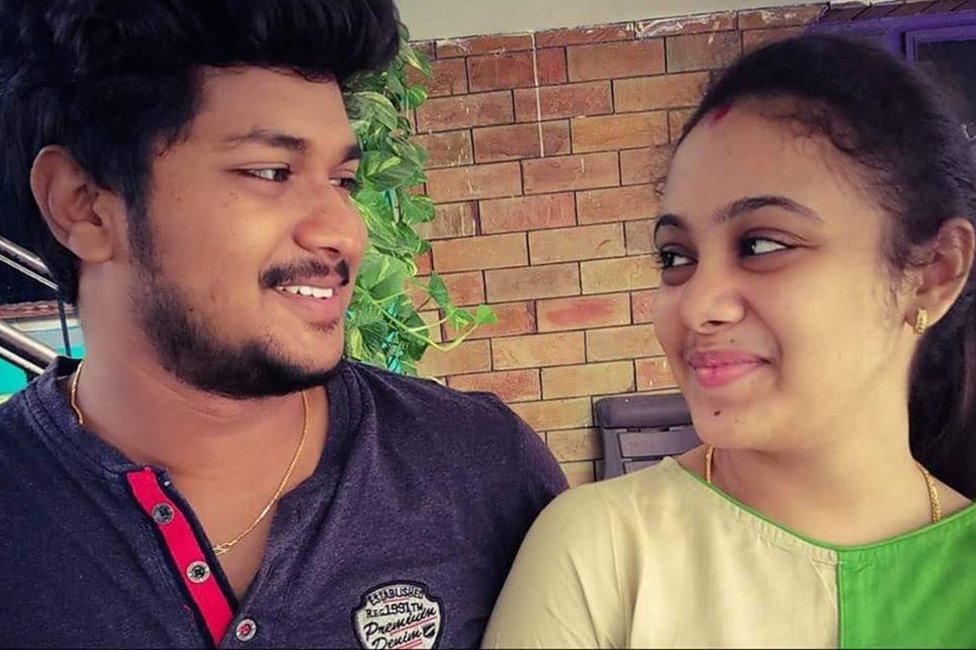 Pranay y Amrutha