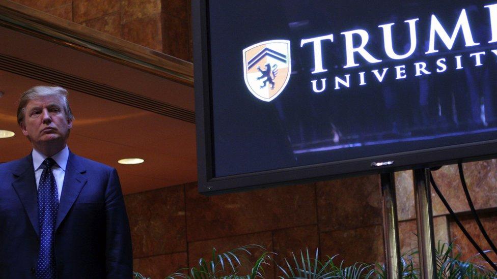 Donald Trump tuvo que desembolsar US$25 millones para pagar las demandas a su Universidad Trump.