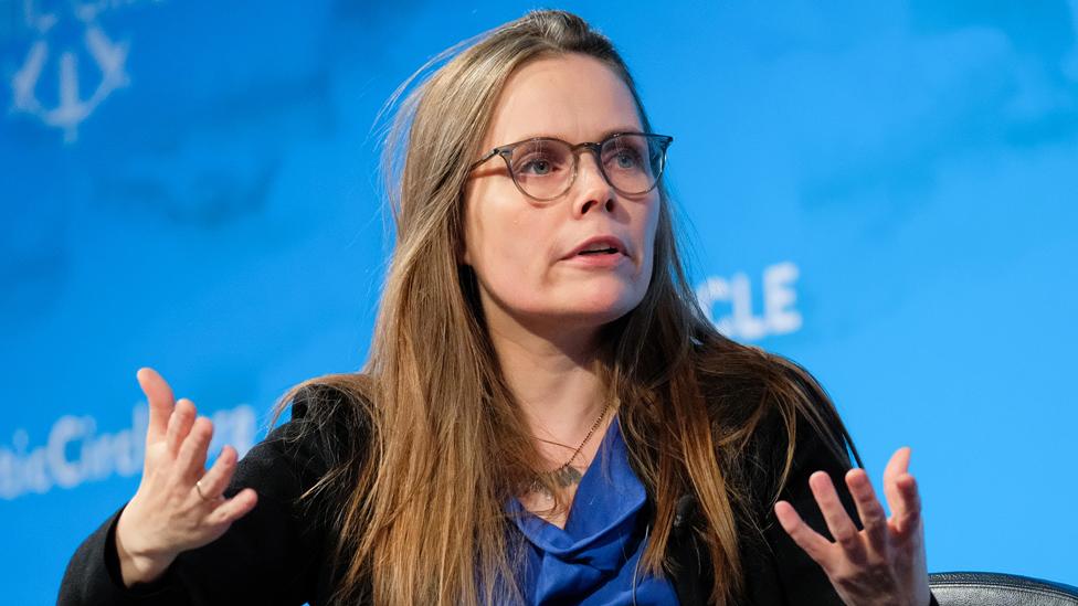 Icelandic PM Katrin Jakobsdottir, 10 Oct 19