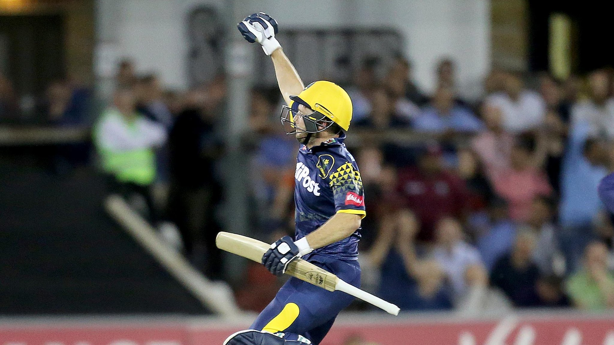 T20 Blast: Glamorgan beat Essex Eagles by two wickets