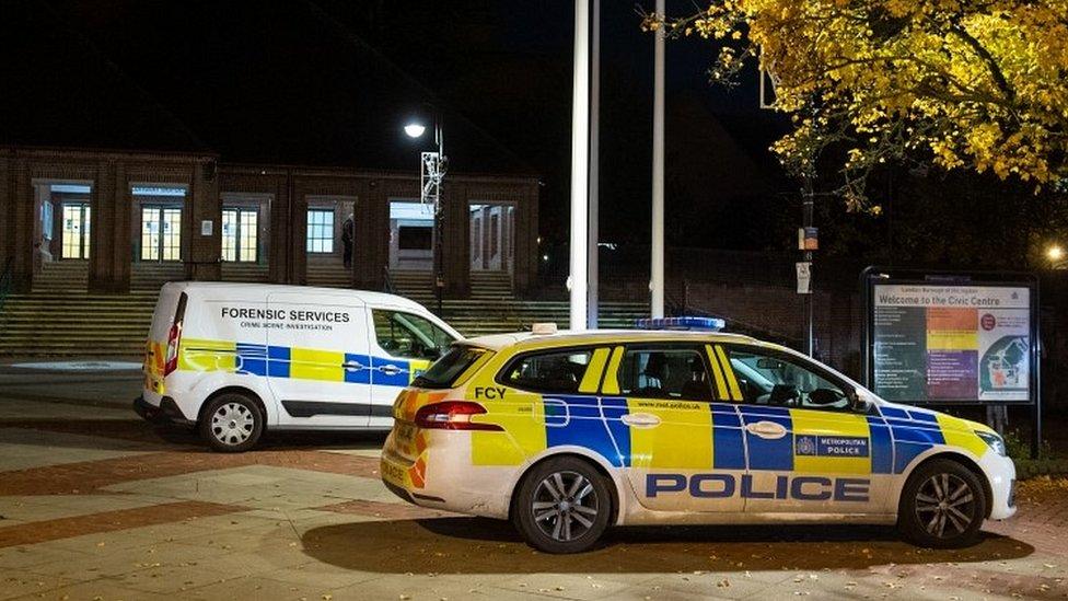 Police in Uxbridge