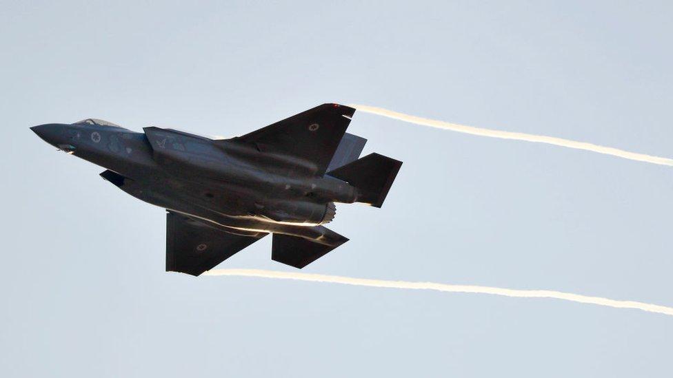 Los caza F-35