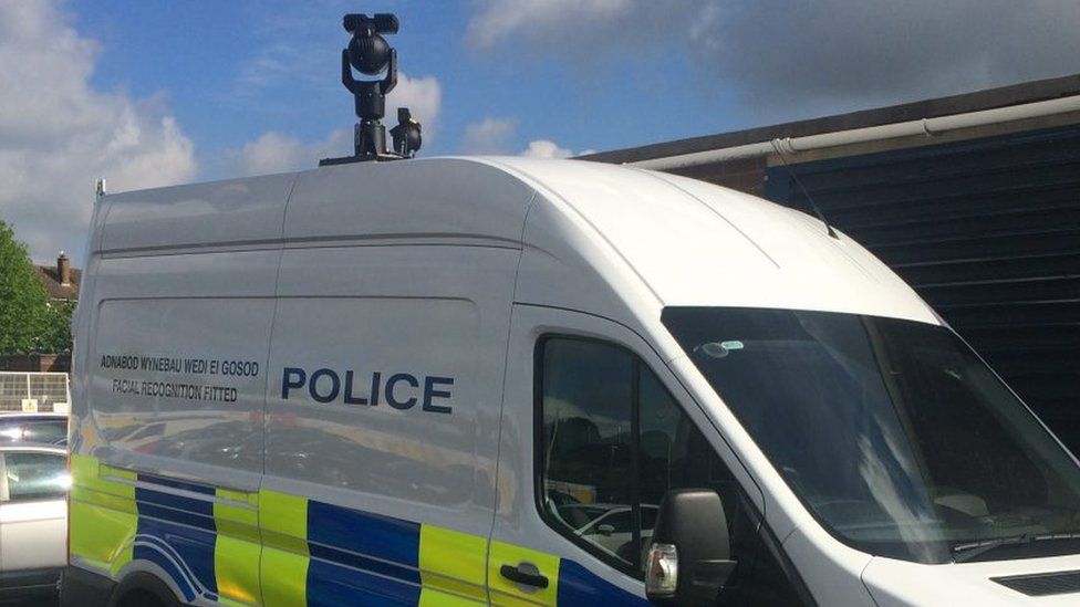 A South Wales Police surveillance camera