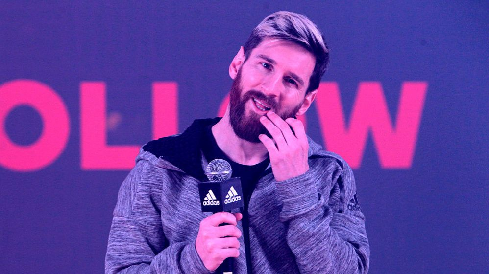 Messi es la mayor superestrella de Adidas.