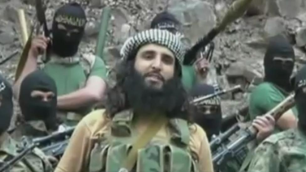 Adnan Rasheed en un video del Talibán