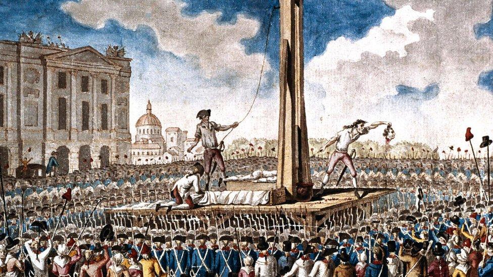 La guillotina francesa