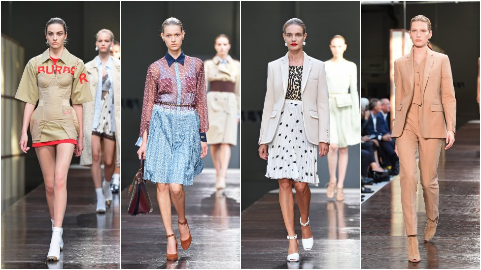 Burberry's Riccardo Tisci shows off first collection at LFW