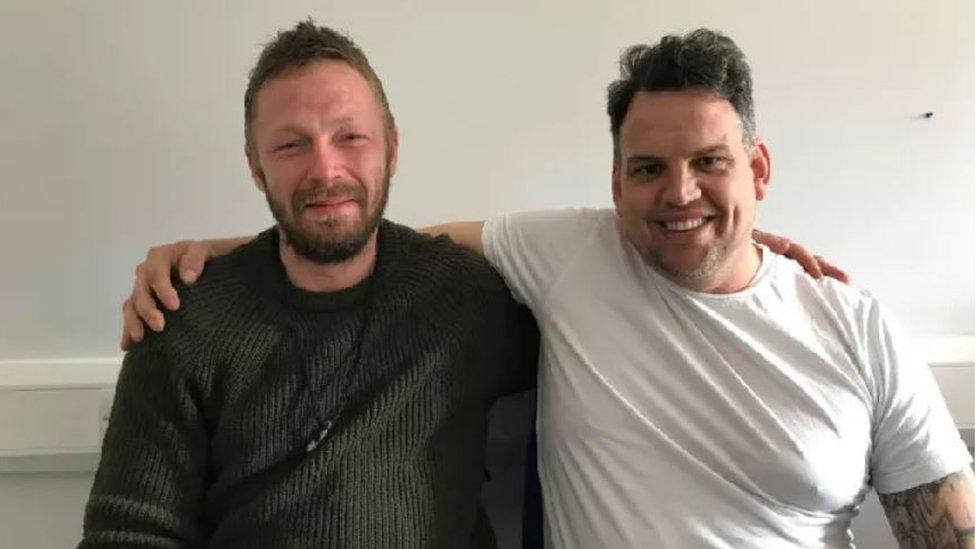 Hastings bus stop note lands homeless man job