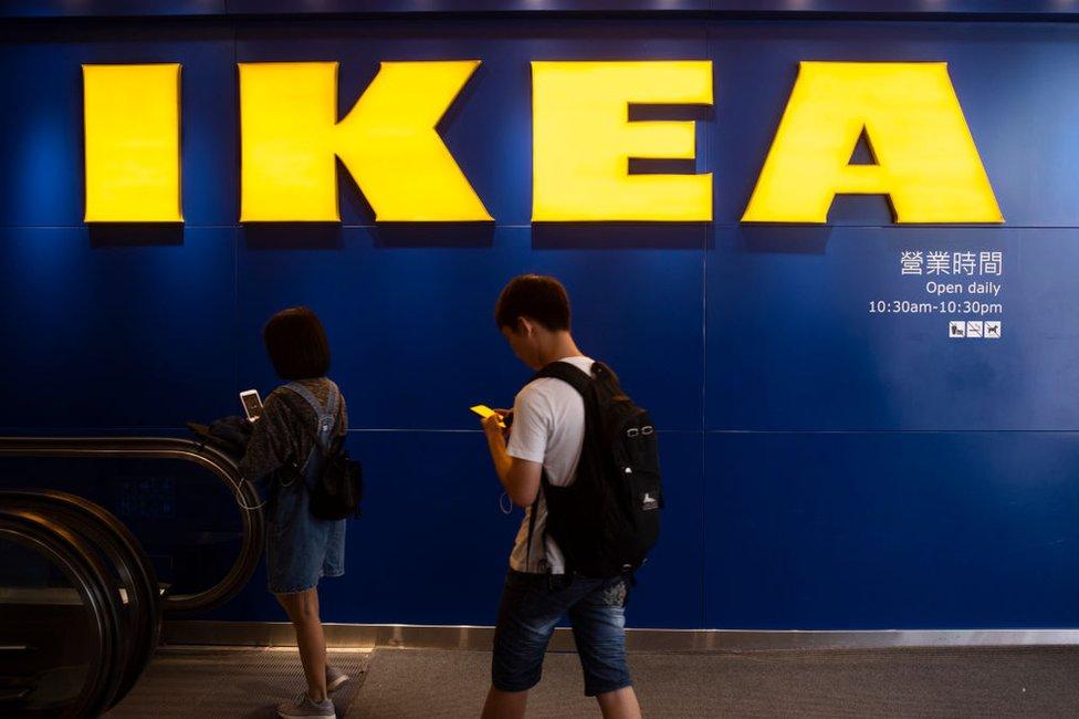 IKEA en Hong Kong.