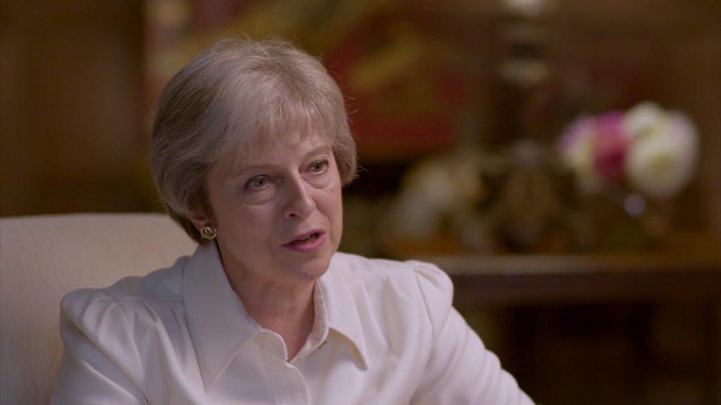 Theresa May: 'No-deal' Brexit disruption 'short-term'