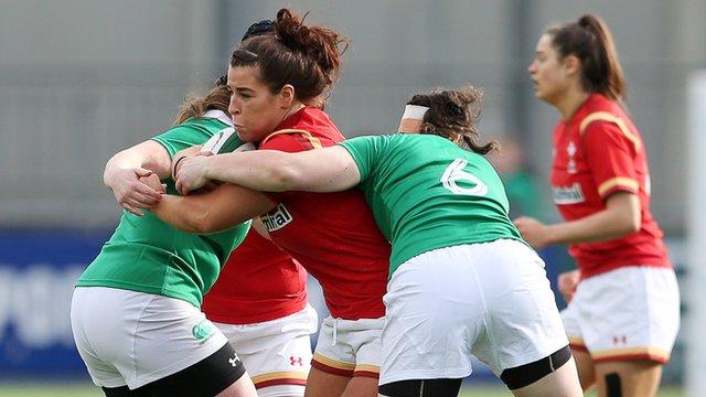 Highlights: Ireland Women 21-3 Wales Women