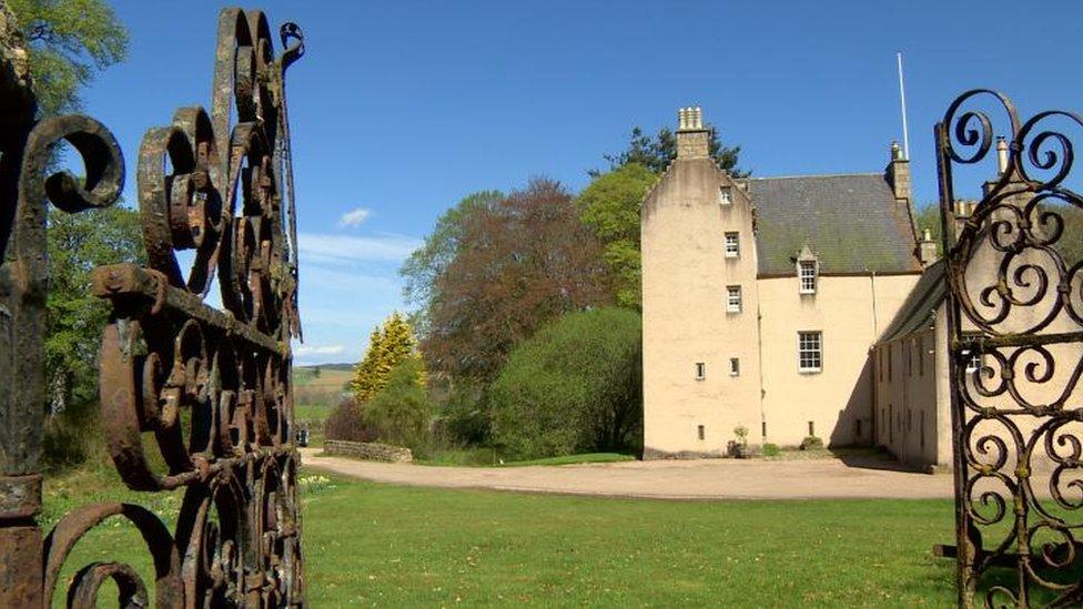 Mr Leslie's castle