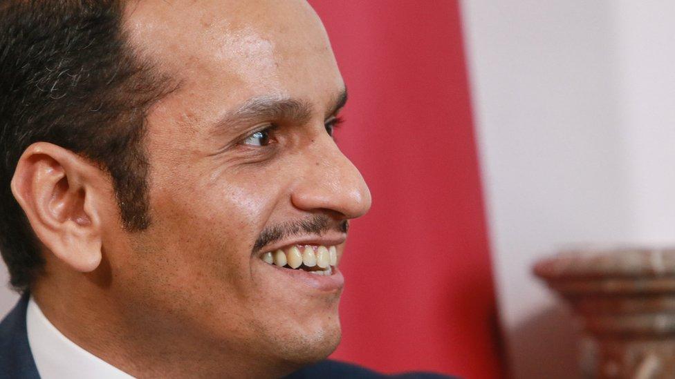الشيخ محمد بن عبدالرحمن آل ثاني وزير الخارجية القطري
