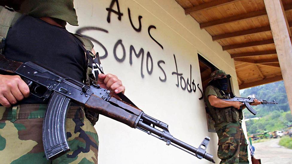 Miembros de las AUC
