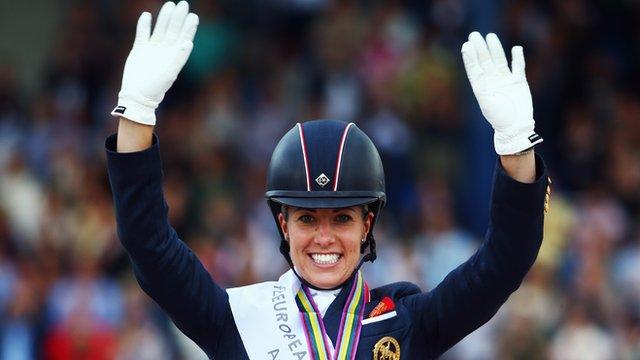 Charlotte Dujardin retains European dressage title