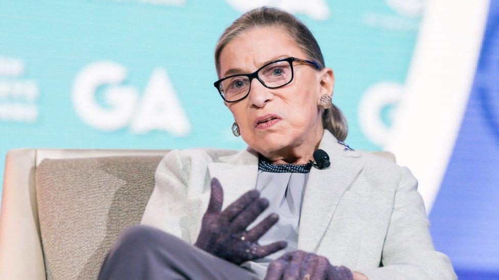 Ruth Bader Ginsberg in 2016