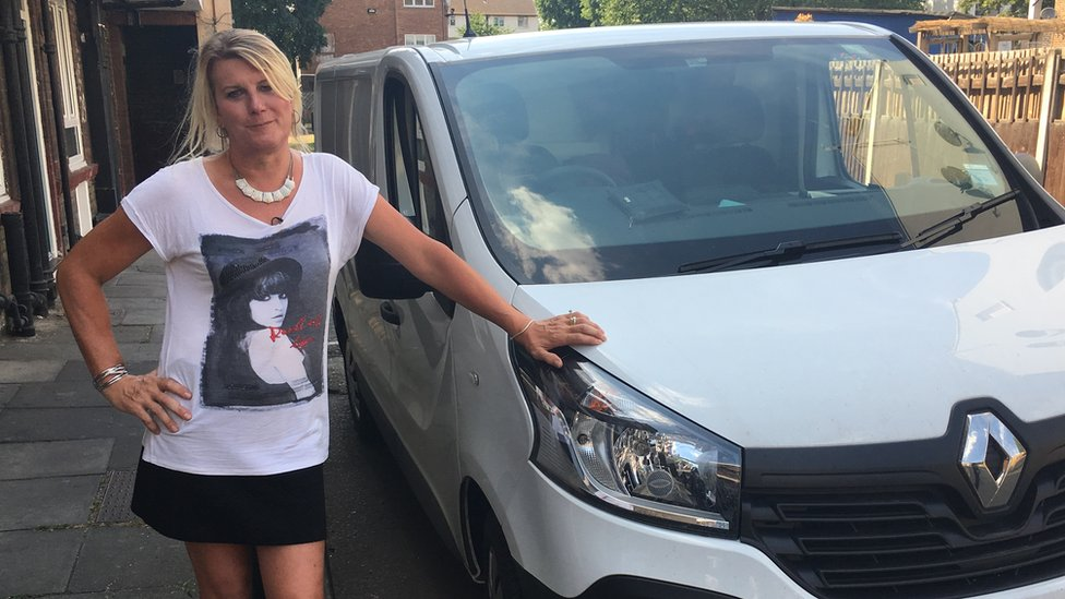 Transgender van driver sues for gig economy discrimination