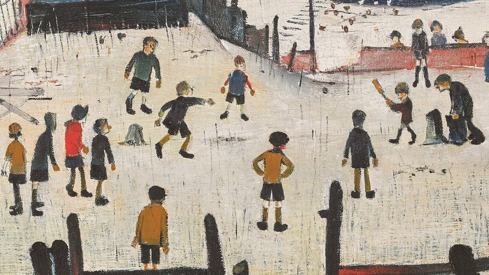 Lowry cricket painting expected to sell for £800,000
