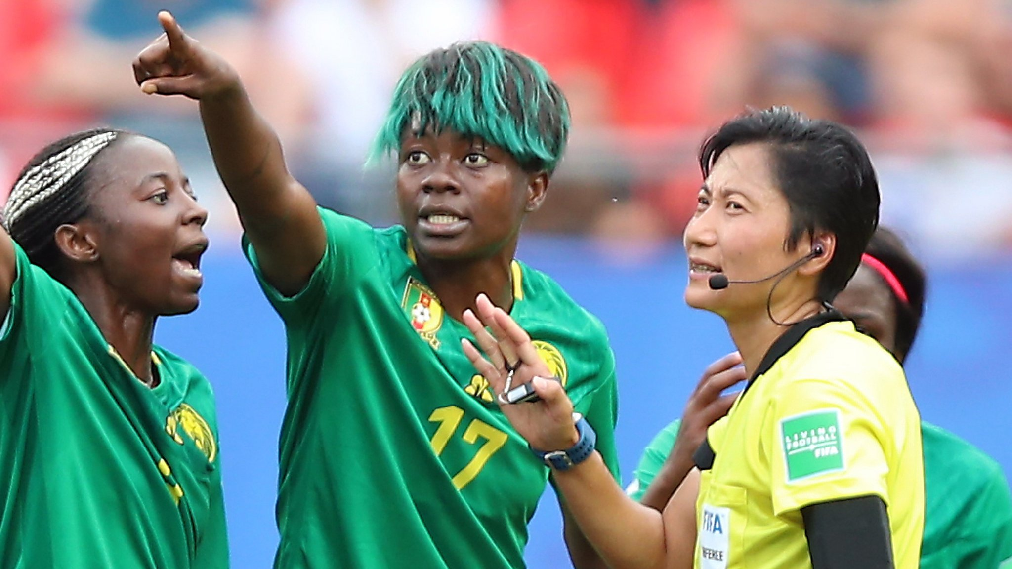 Women's World Cup 2019: BBC pundits on 'extraordinary scenes' as Cameroon fume over VAR decisions