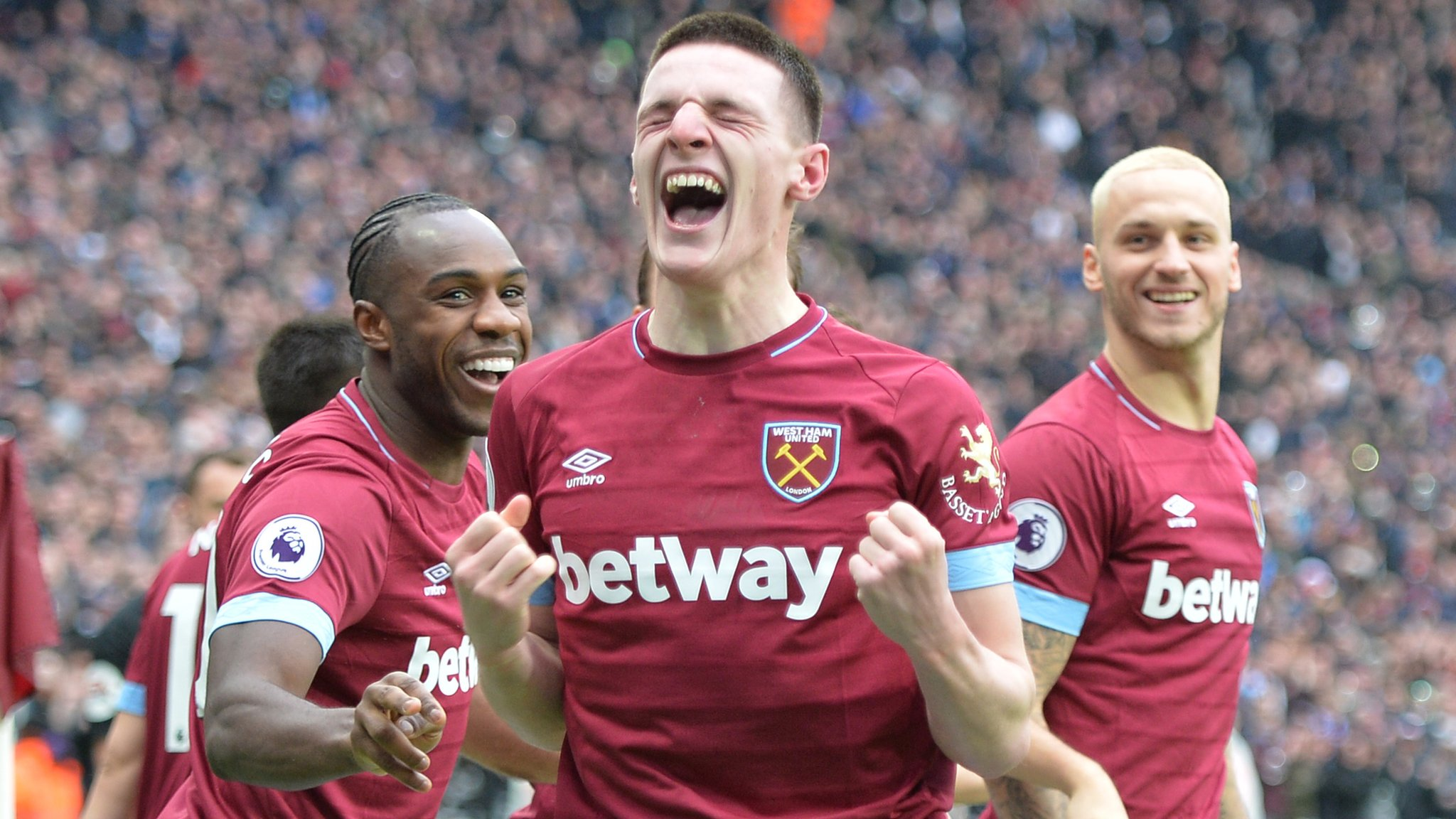 Declan Rice: West Ham boss Manuel Pellegrini praises 'complete player'