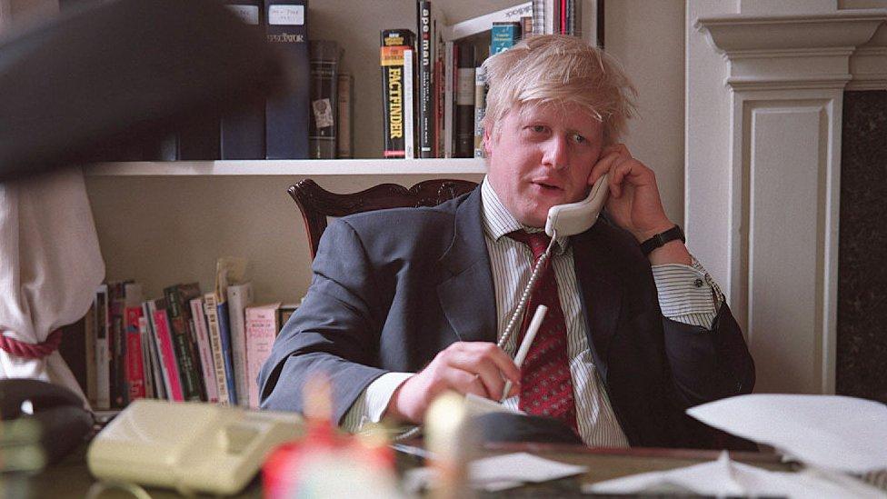2000年約翰遜擔任《新政治家》主編