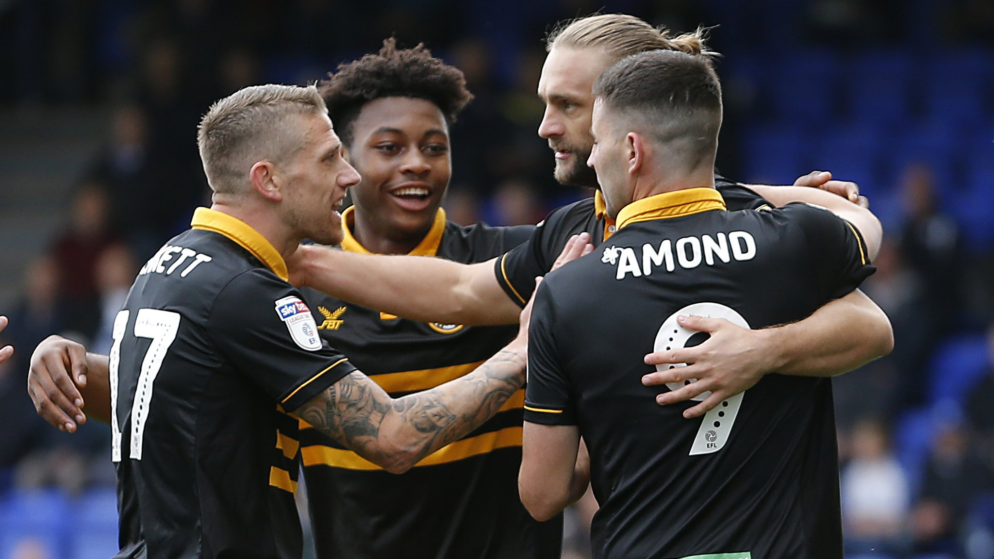 Tranmere Rovers 0-1 Newport County