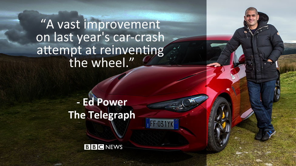 Ed Power's review in The Telegraph: A vast improvement on last year's car-crash attempt at reinventing the wheel
