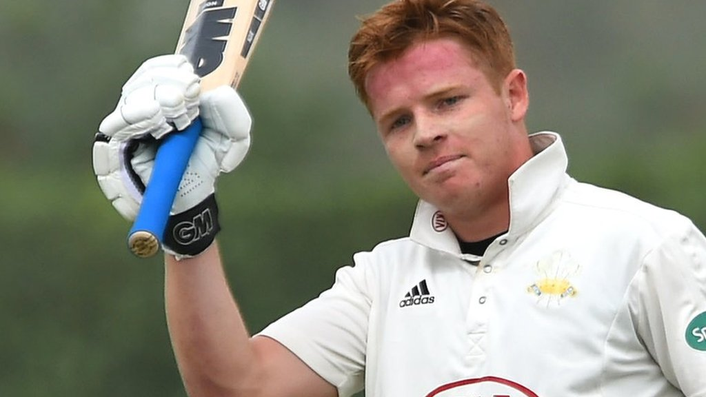 Champion County match: Ollie Pope & Jamie Smith score hundreds for Surrey v MCC