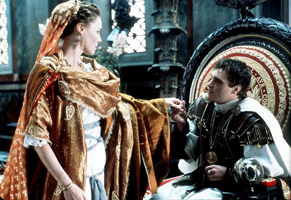 """Joaquin Phoenix en """"Gladiador"""""""