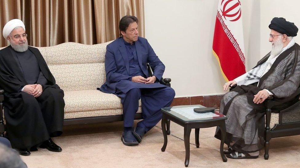 ایران پاکستان عمران خان