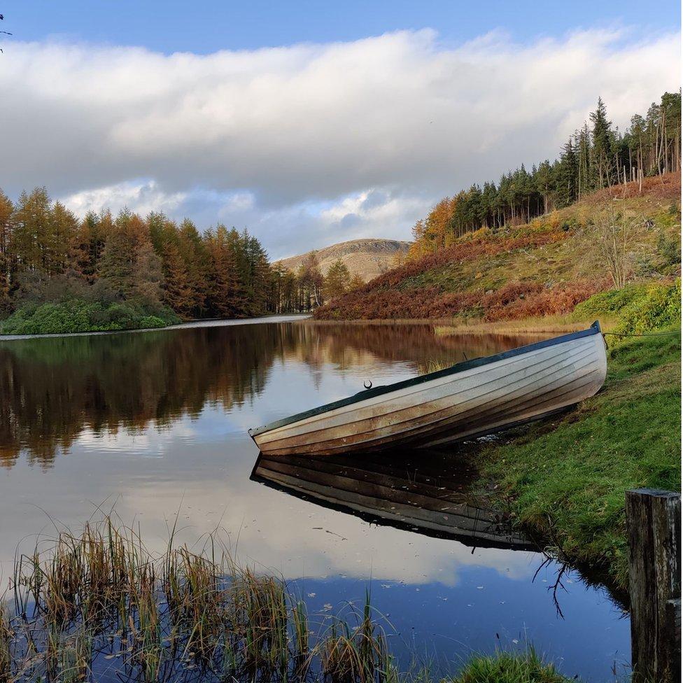 Alex Christie was enjoying the autumnal tranquillity near Glenshee when he captured this shot.