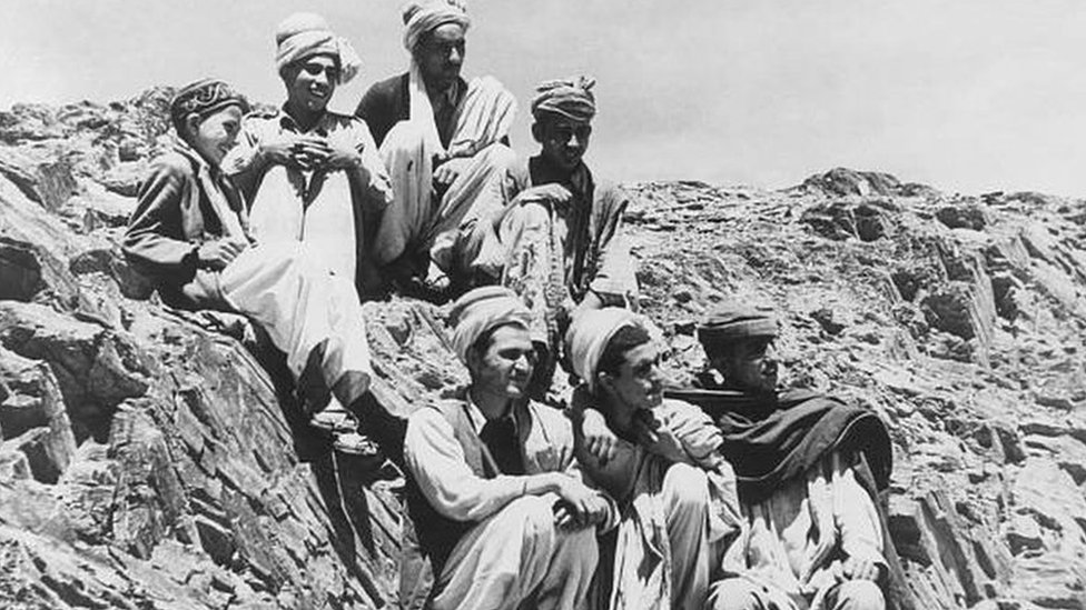 بشتون في الجانب الباكستاني من الحدود (صورة أرشيفية)
