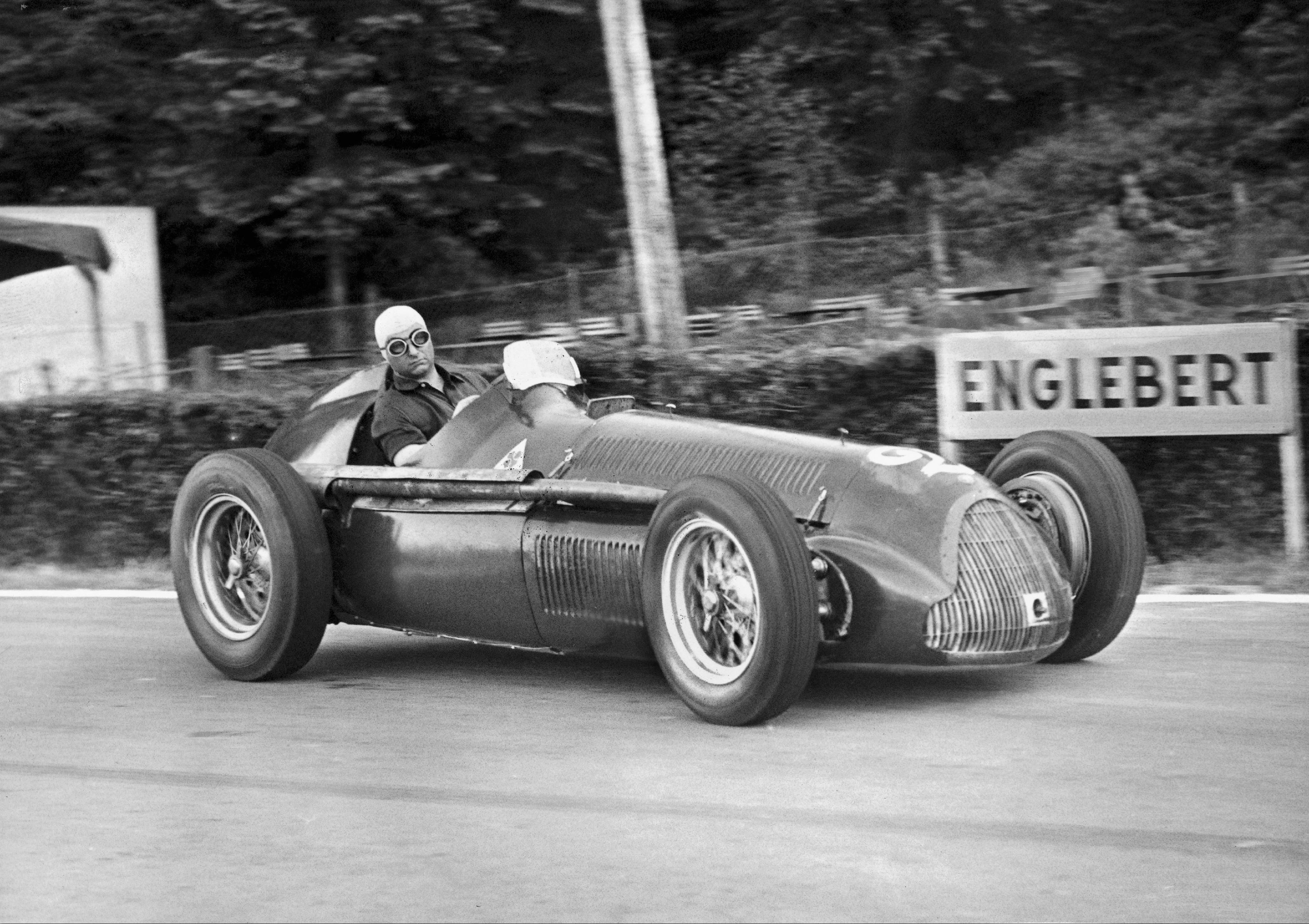 Fangio fue cinco veces campéon de la Fórmula 1.