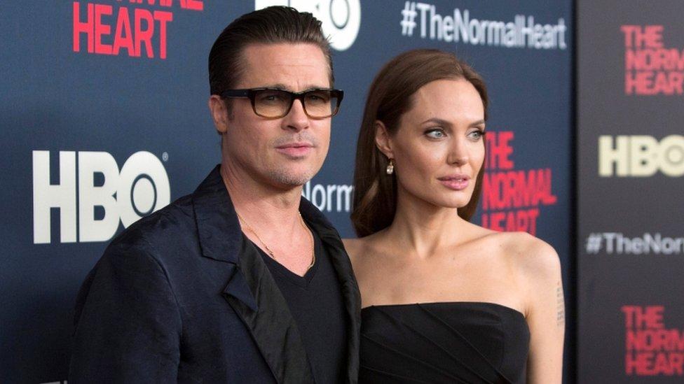 2014年,根據原作改編的電影《平常心》,皮特和朱麗在紐約出席首映式