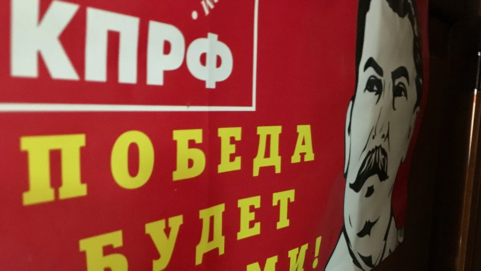 plakat komunista