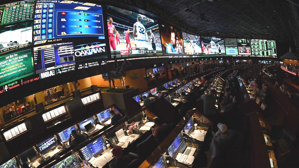 Sports betting in Nevada