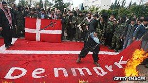 Anti-Danish protest