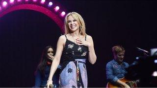 BBC News - Kylie cancels Belfast concert due to illness